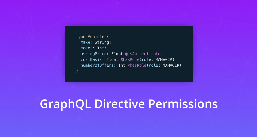 GraphQL Directive Permissions — Authorization Made Easy | Prisma