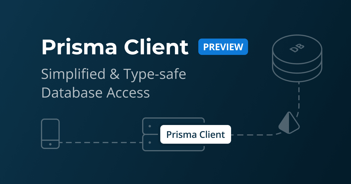 Prisma Client (Preview): Simplified & Type-safe Database