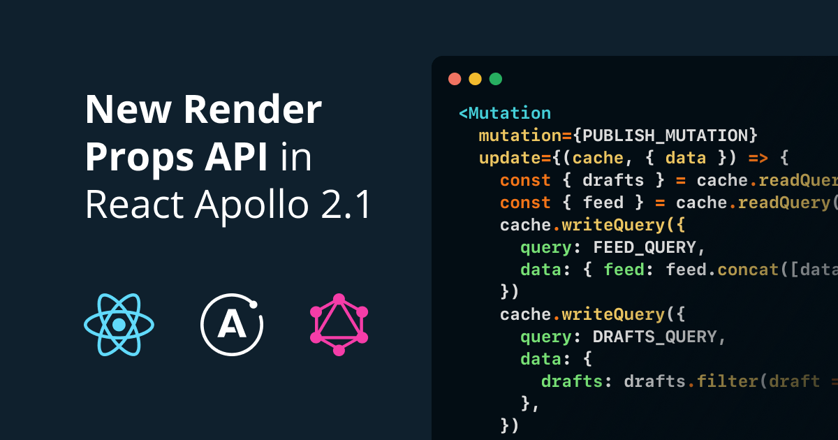 Tutorial: Render Props in React Apollo 2 1 | Prisma