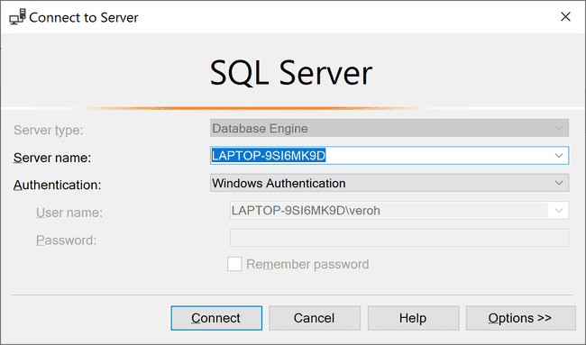 The New Query button in SQL Server Managment Studio